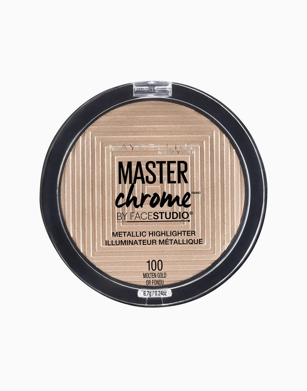 Master Chrome Metallic Highlighter by Maybelline | Molten Gold