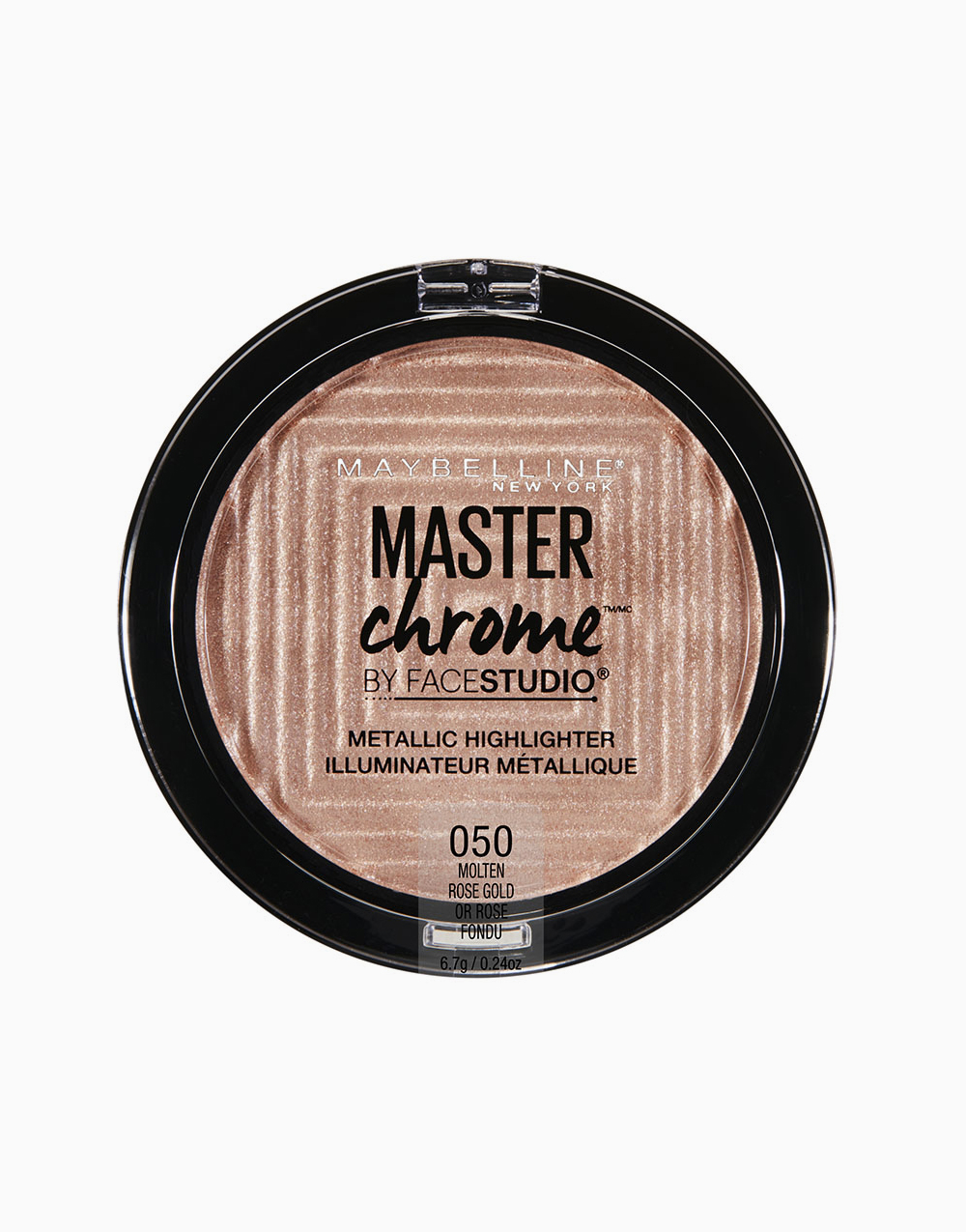 Master Chrome Metallic Highlighter by Maybelline | Molten Rose