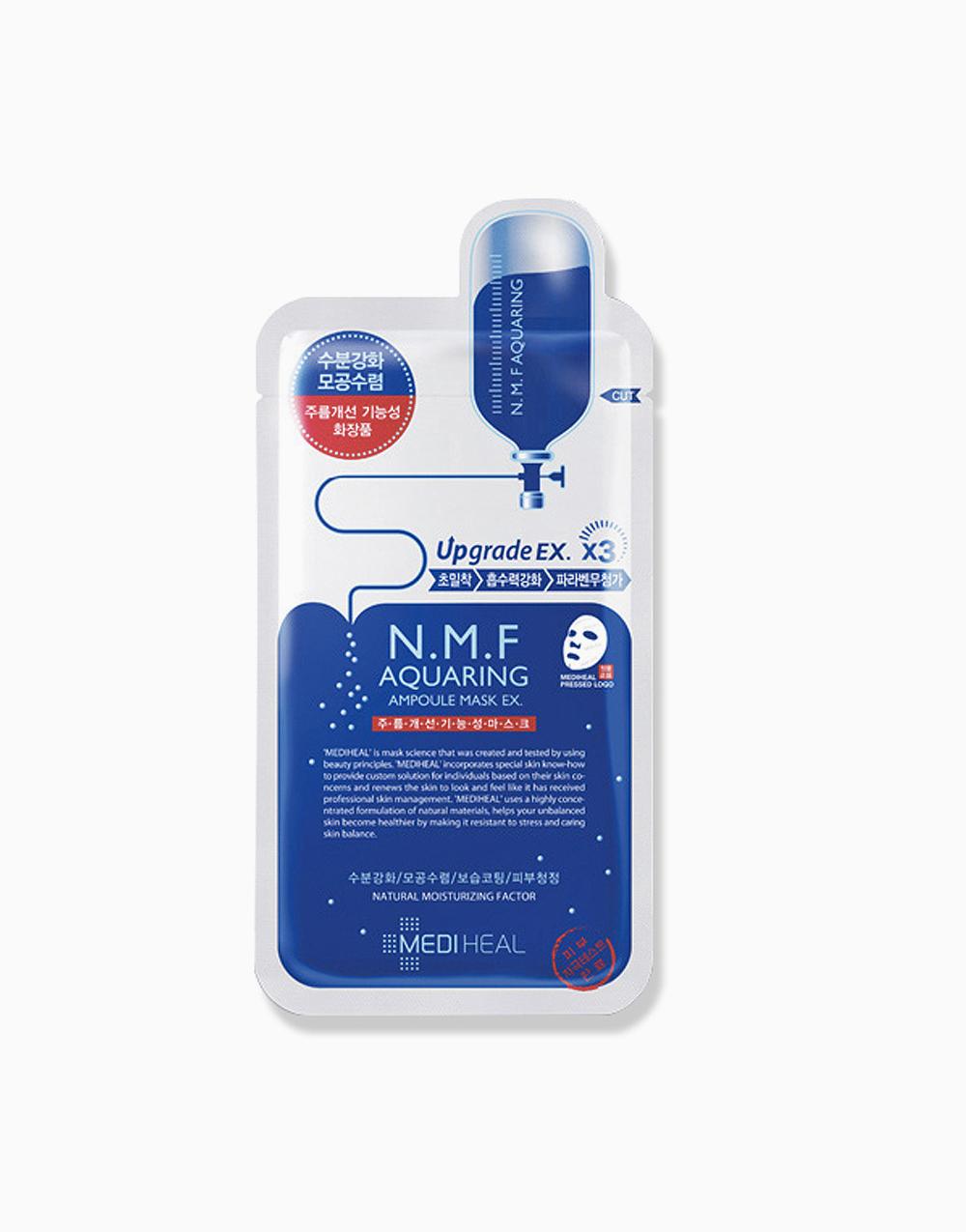 N.M.F Aquaring Moisturising Ampoule Mask EX (27ml) by Mediheal