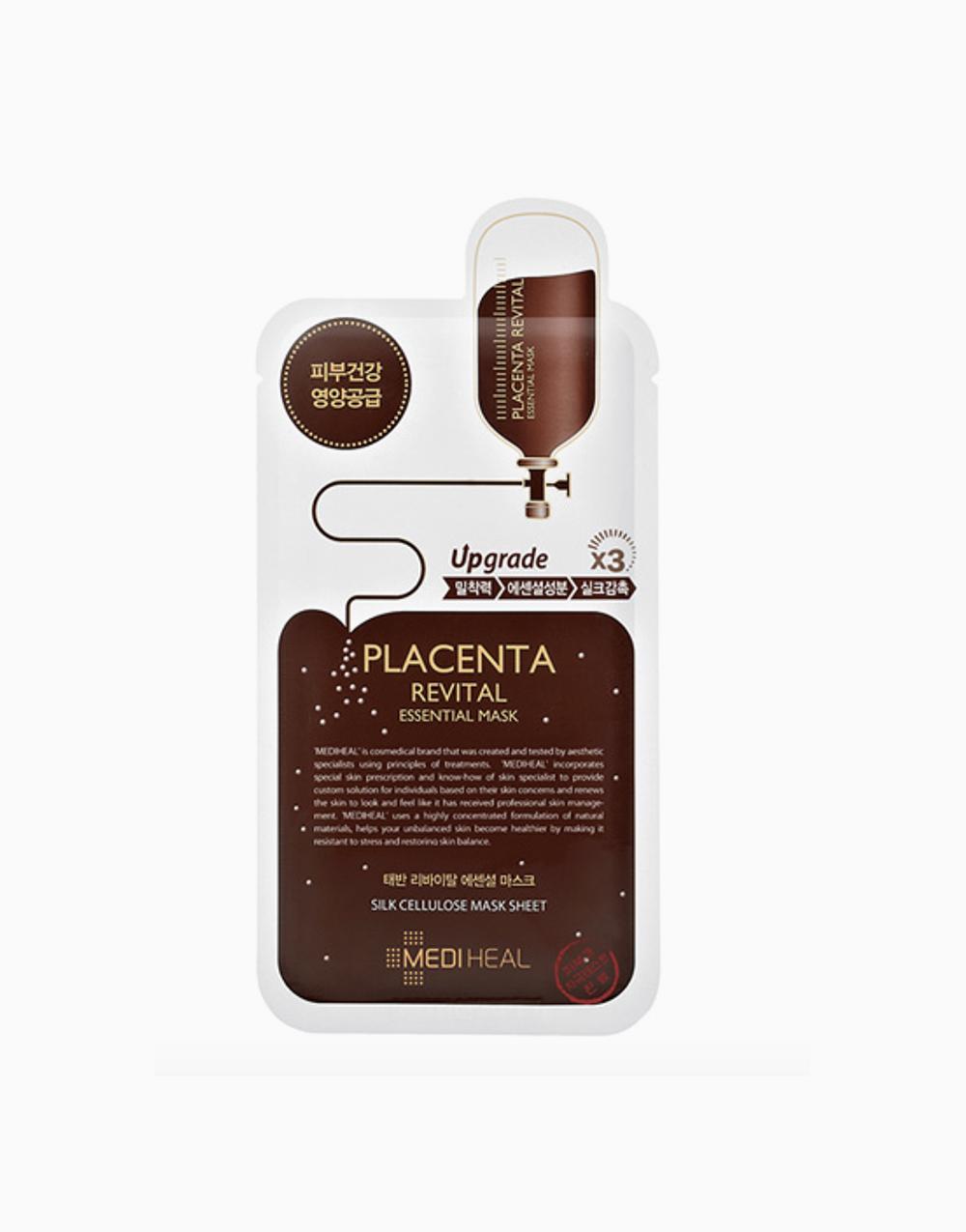 Placenta Revital Firming Essential Mask EX (24ml) by Mediheal