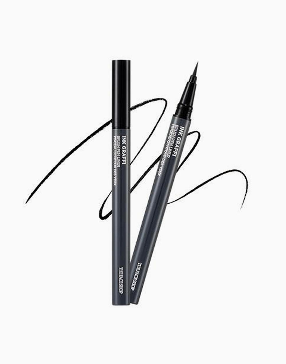 Ink Graffi Brush Pen Liner by The Face Shop | 01 Ink Black