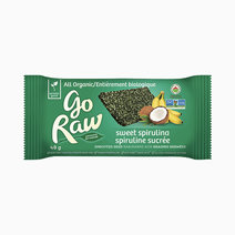 Sweet Spirulina Sprouted Bar by Go Raw