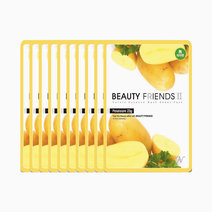Beauty friends mask sheet potato 10pcs