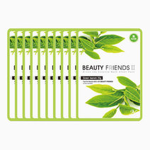 Beauty friends mask sheet greentea 10pcs