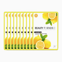Beauty friends mask sheet lemon 10pcs
