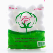 Cotton Balls (50 Balls) by Tender Soft