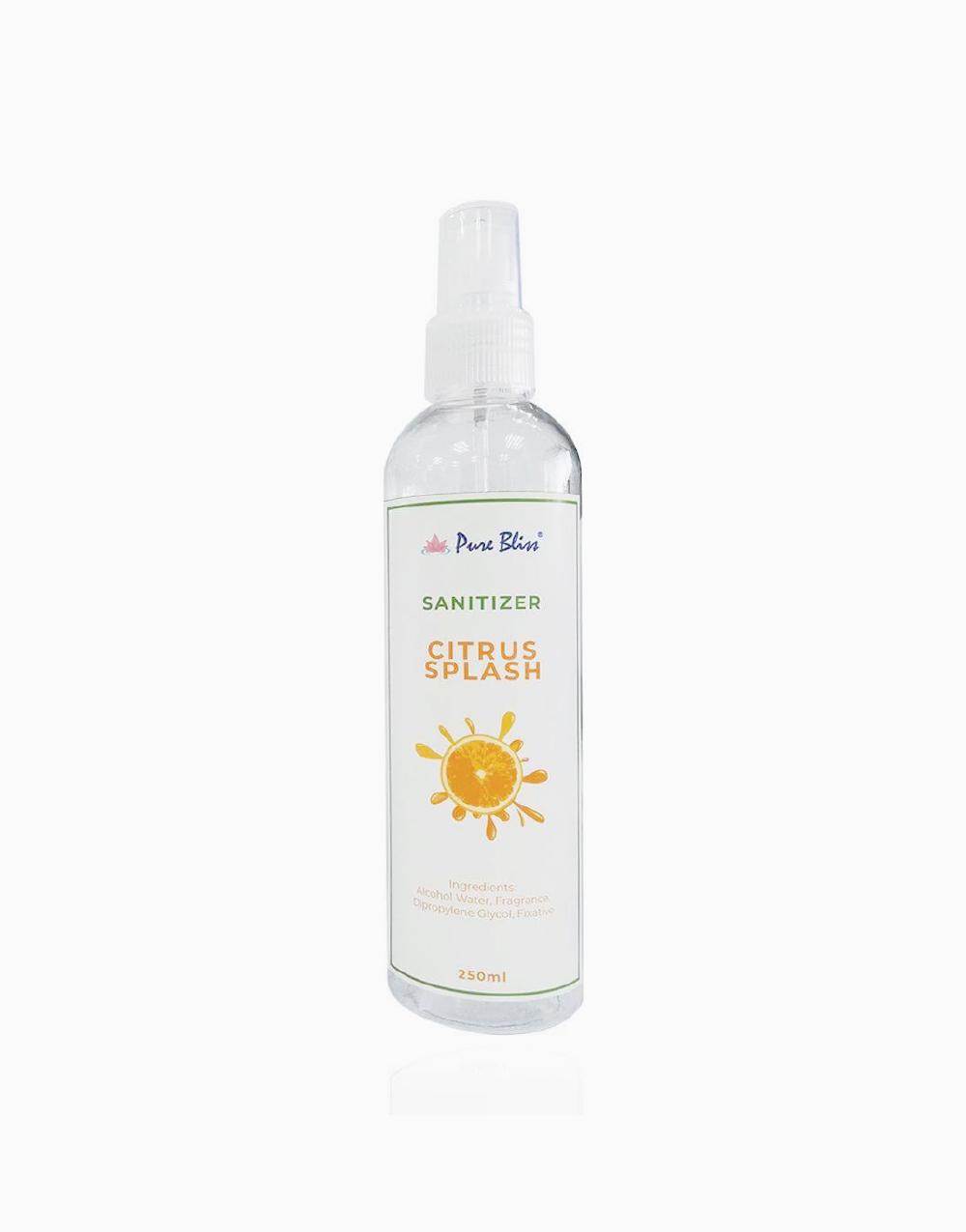 Sanitizer (250ml) by Pure Bliss   Citrus Splash