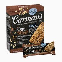 Carmans belgian chocolate brownie oat slice