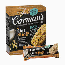 Carmans golden oat and coconut oat slice