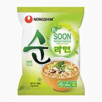 Nongshim soon veggie ramyun pouch %28e%29 112g40
