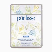 Purlisse blue lotus   white tea treatment sheet mask