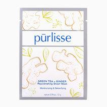 Purlisse green tea   ginger rejuvenating sheet mask