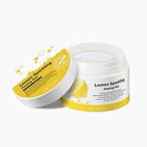Secretkey lemon sparkling peeling pad 70pcs2