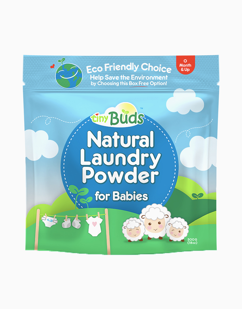 Natural Laundry Powder Pack by Tiny Buds