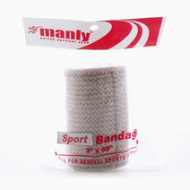 """Sports Bandage 3"""" With Velcro Cream by Manly"""