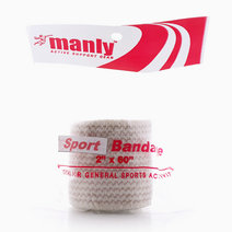 "Sports Bandage 2"" With Velcro Cream by Manly"