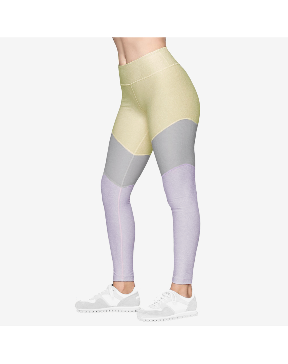 7/8 Springs Legging in Dandelion/Concrete/Wisteria by Outdoor Voices |