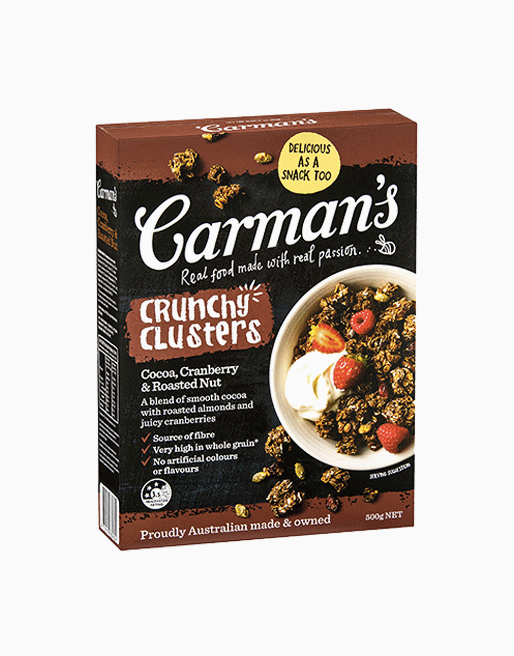 Crunchy Clusters by Carman's