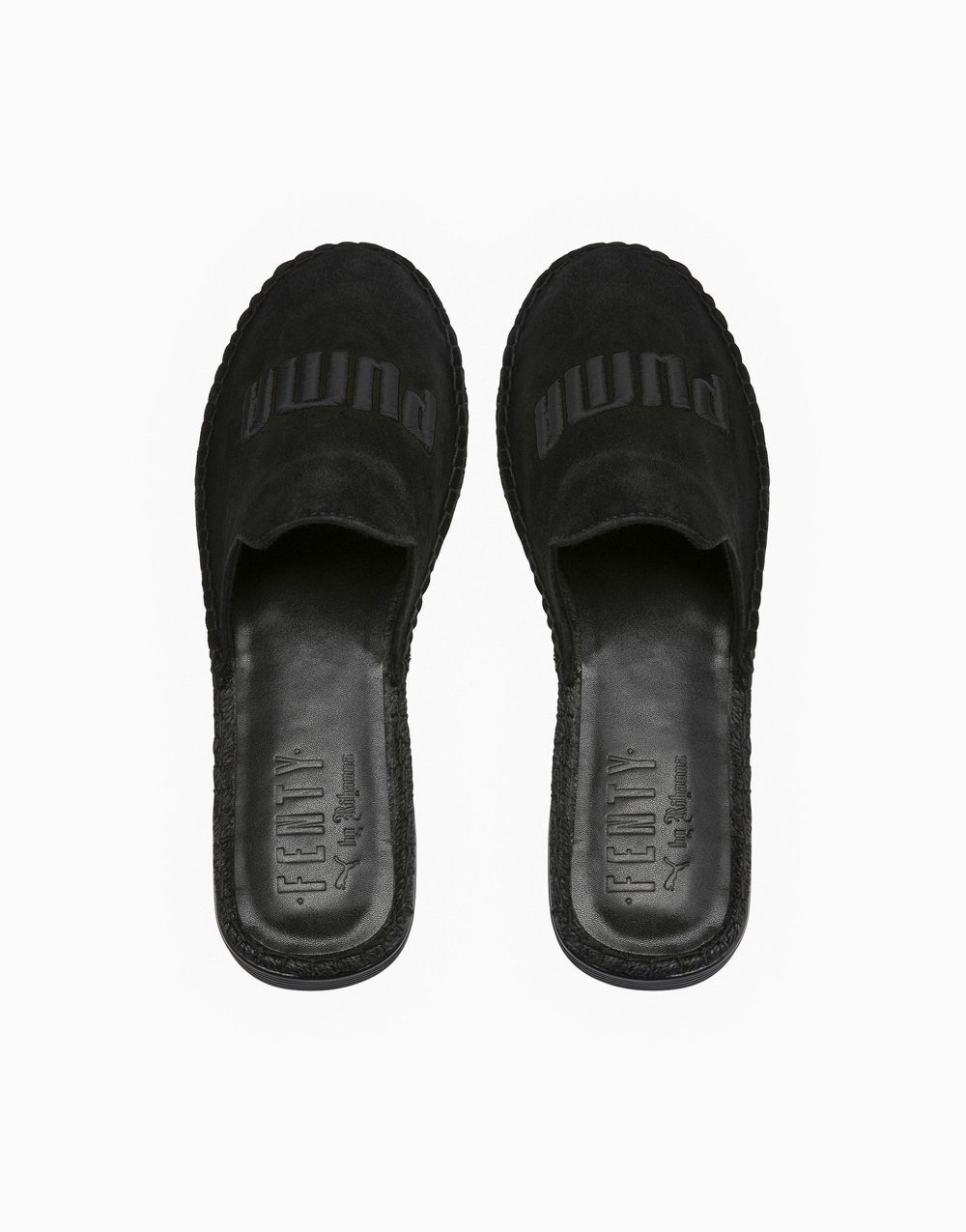 Fenty Espadrille in Black by Puma | US 8.5
