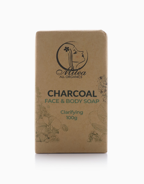 Charcoal Soap (100g) by Milea