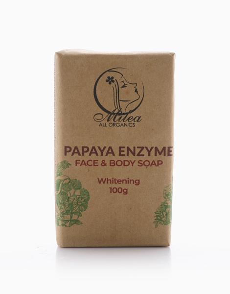 All Organics Papaya Enzyme Soap (100g) by Milea