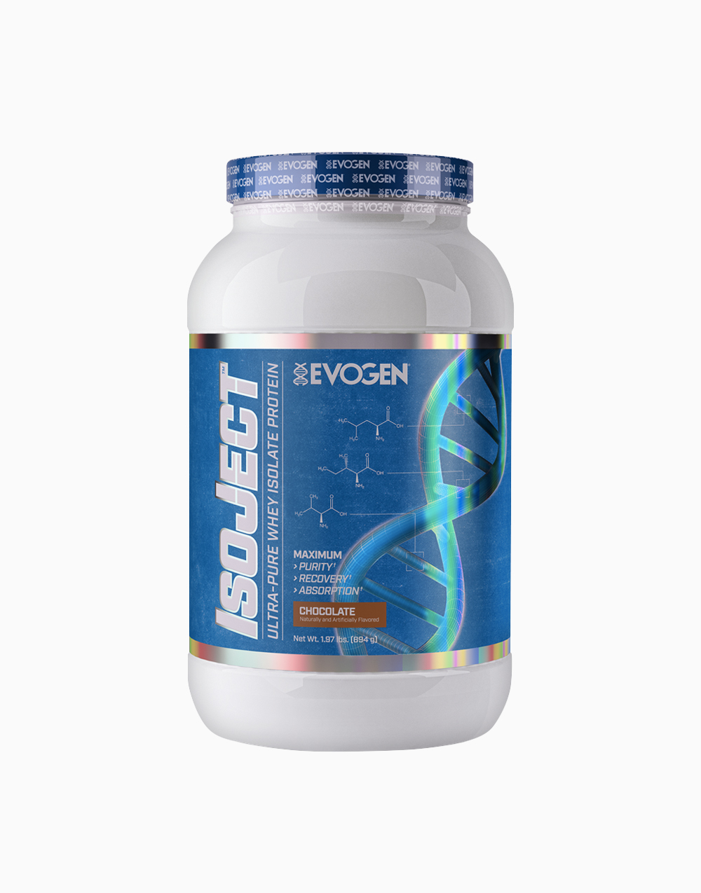 Nutrition Isoject Chocolate Flavor (28 Servings) by Evogen