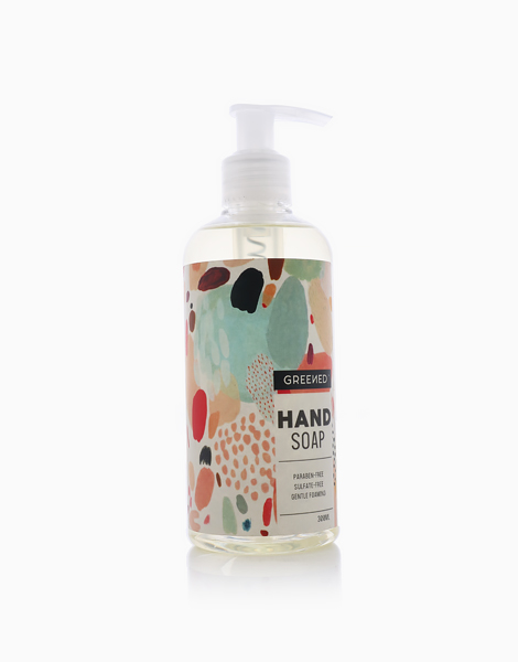 Greened Liquid Hand Soap by LivStore | Red Berries, cashmere wood and soft Vanilla