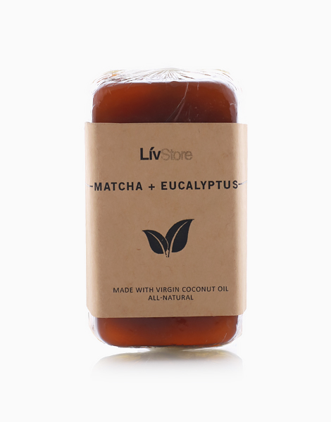 LivStore All-Natural Glycerin Soap by LivStore   Matcha & Eucalyptus