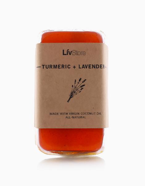 LivStore All-Natural Glycerin Soap by LivStore   Turmeric & Lavender