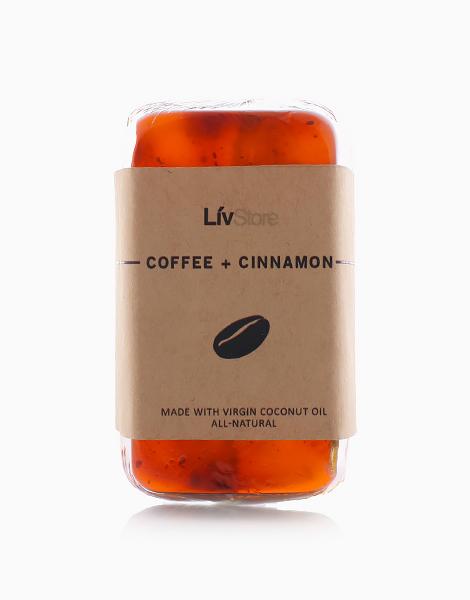LivStore All-Natural Glycerin Soap by LivStore   Coffee & Cinnamon