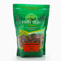 Natural Whole Almonds by Heritage