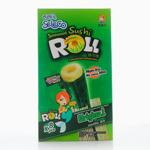 Original Sushi Roll Crispy Seaweed With Rice Snack (1 Box) by Seleco