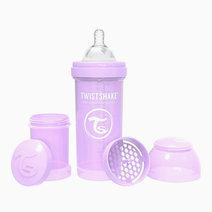 Twistshake anti colic baby bottle 260ml8ozp pastelpurple