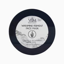V m naturals wakamine ferment purifying   brightening face mask