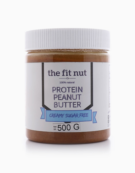 High-Protein Sugar-Free Creamy Peanut Butter (500g) by The Fit Nut PH
