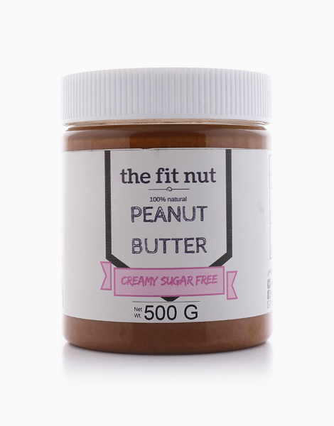 Regular Sugar-Free Creamy Peanut Butter (500g) by The Fit Nut PH