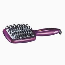 Babyliss double ionic ceramic hot straightening brush2