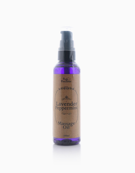 Precious Pad Massage Oil (100ml) by Precious Herbal Pillow   Lavender and Peppermint