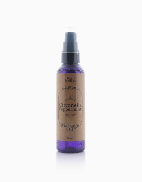 Precious Pad Massage Oil (100ml) by Precious Herbal Pillow   Citronella Peppermint