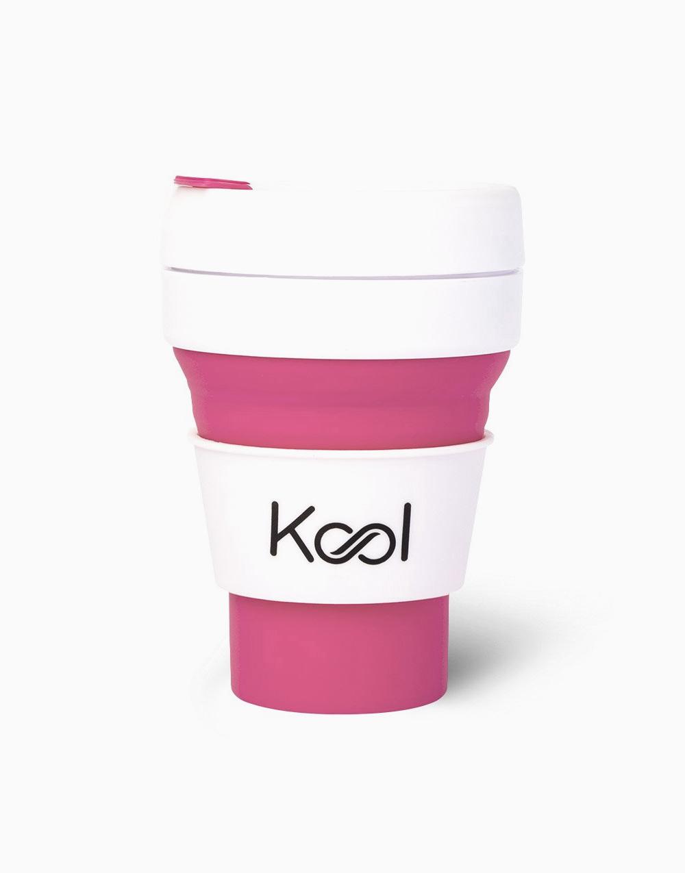 Kool Foldable Cup (355ml) by Kool | Flamingo