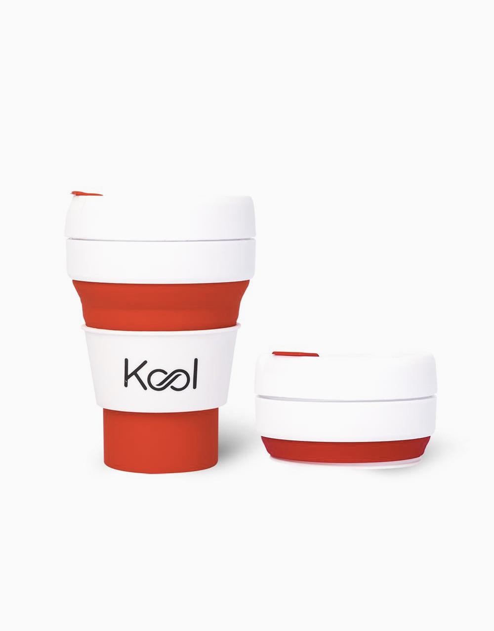 Kool Foldable Cup (355ml) by Kool   Lava