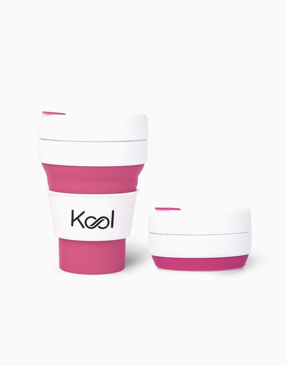 Kool Foldable Cup (355ml) by Kool   Flamingo