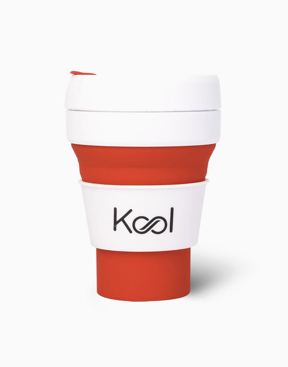 Kool Foldable Cup (355ml) by Kool | Lava