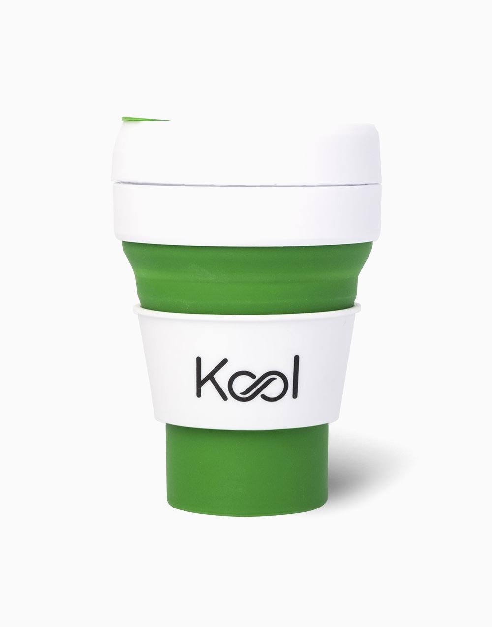 Kool Foldable Cup (355ml) by Kool   Peppermint