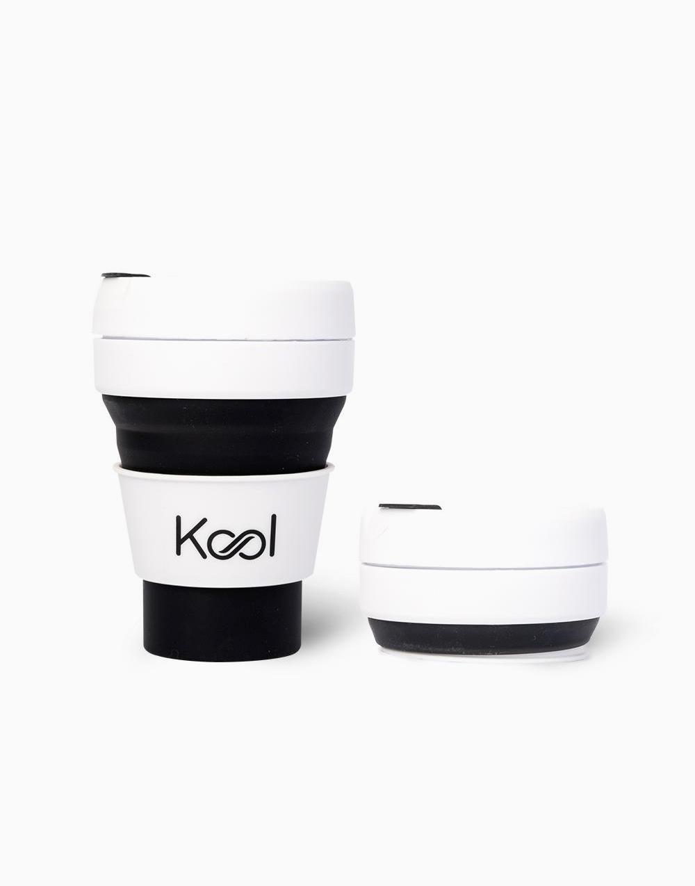 Kool Foldable Cup (355ml) by Kool   Midnight