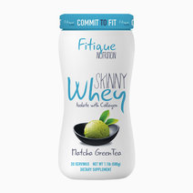 Fitique 'fitique nutrition skinny whey isolate with collagen matcha green tea'