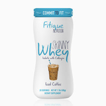 Fitique 'fitique nutrition skinny whey isolate with collagen iced coffee'