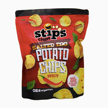 Stips' chips salted egg potato chips 200g spicy