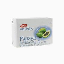 Bench ogranics  handmade bar soap in papaya   milk