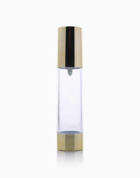 Gold Airless Pump Refillable Cosmetic Bottle (50ml) by Keme Packaging